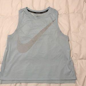 Nike running dri fit sleeveless